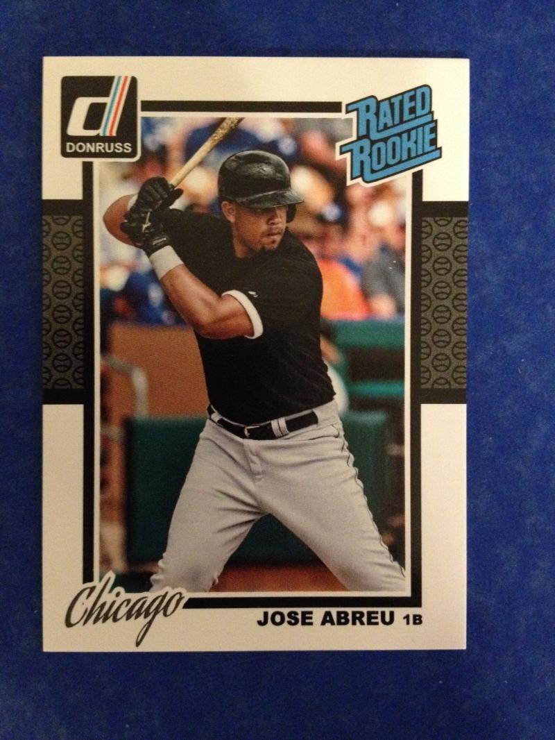 2014 Donruss Bonus Rated Rookie Jose Abreu #202