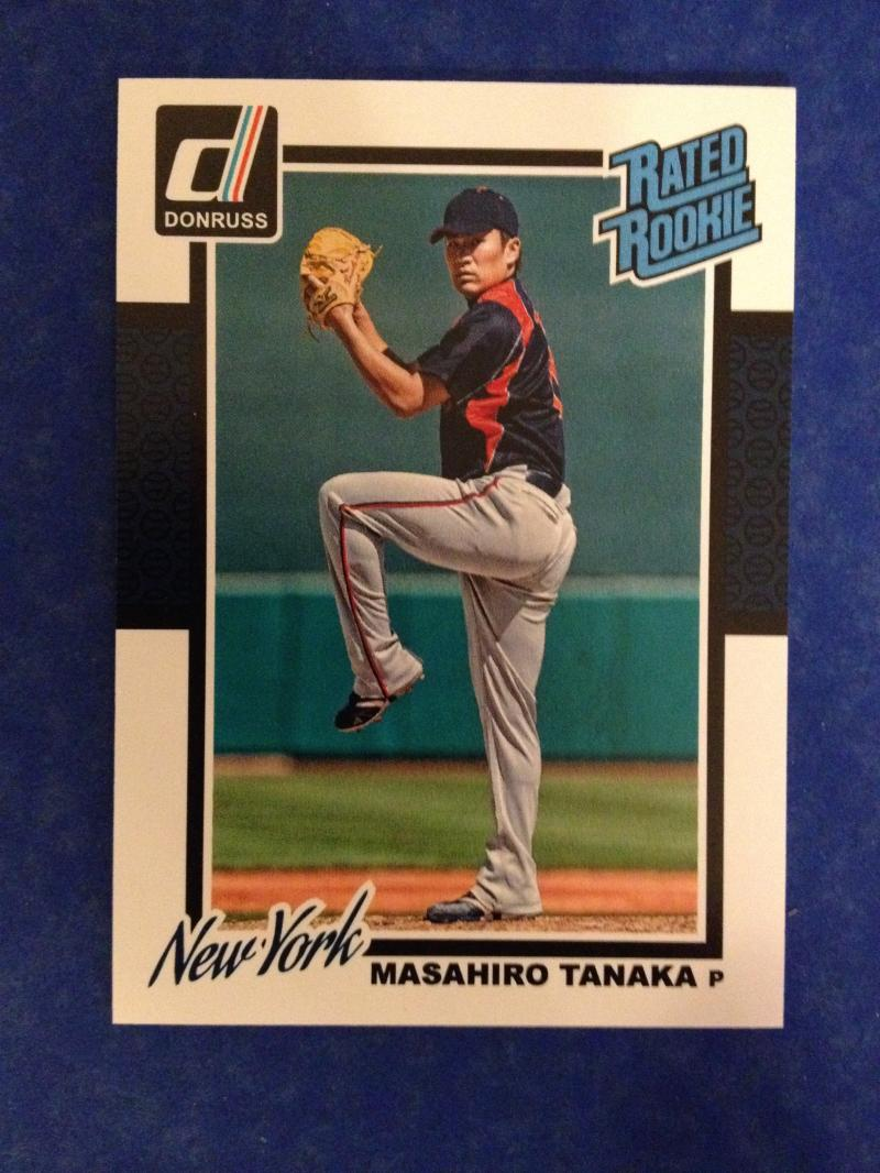 2014 Donruss Rated Rookie Masahiro Tanaka #201 Wrapper Redemption