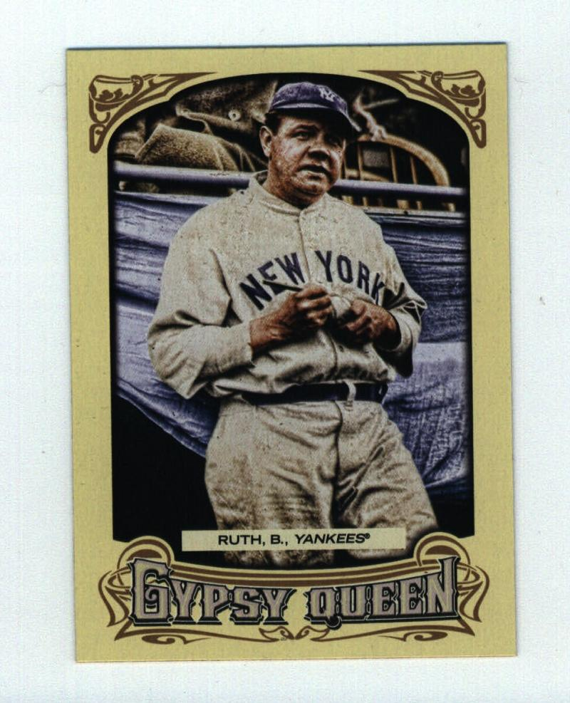 2014 Gypsy Queen  #301 Babe Ruth   SP