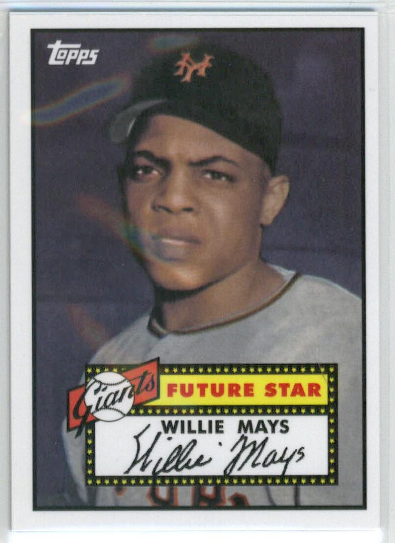 2014 Topps Future Stars The Never Were #FS-16 Willie Mays