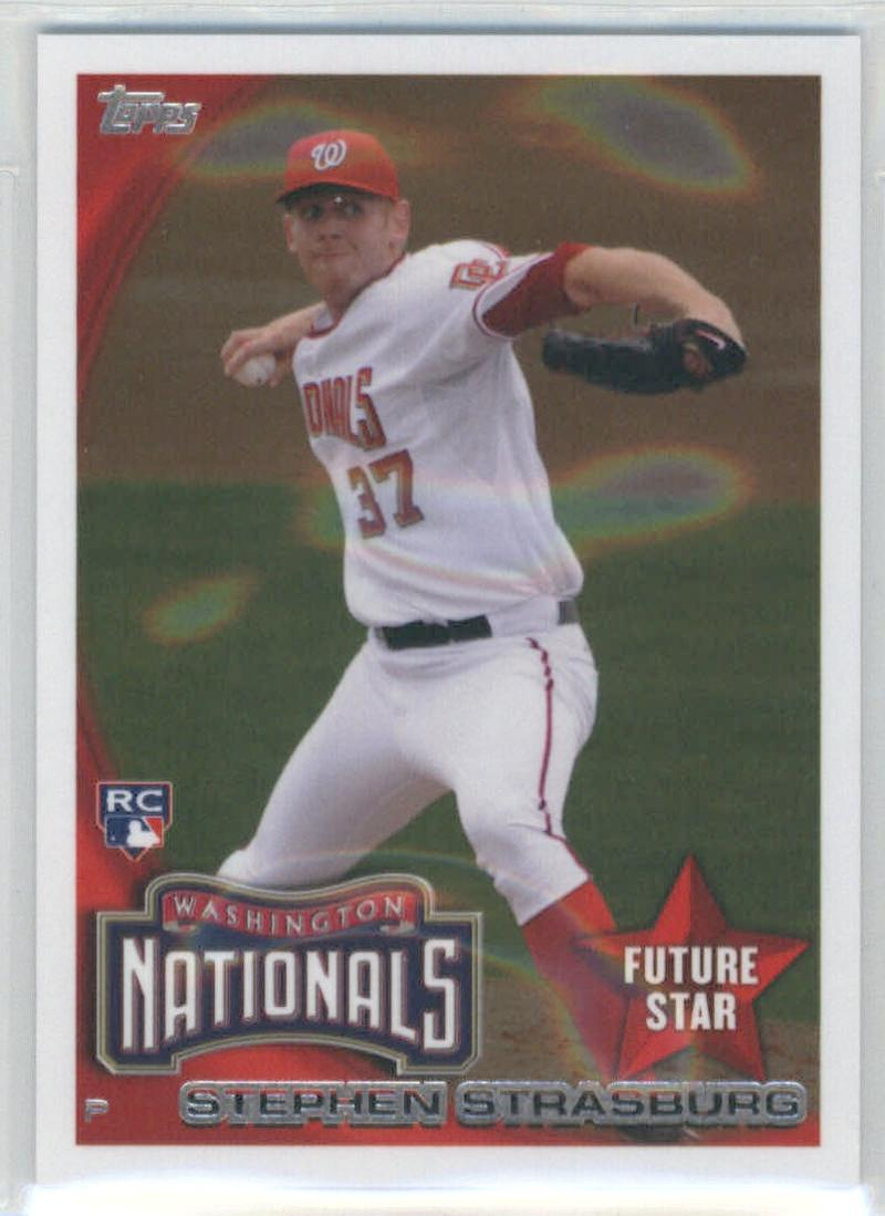2014 Topps Future Stars The Never Were #FS-26 Stephen Strasburg