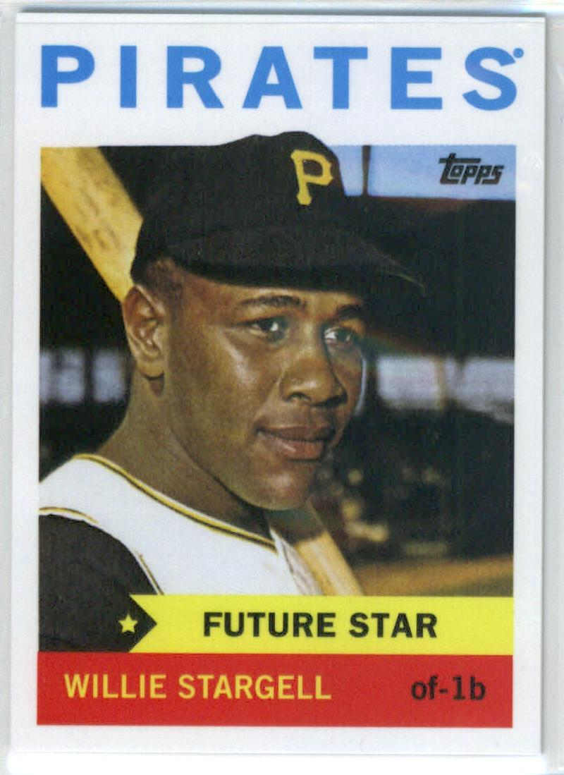 2014 Topps Future Stars The Never Were #FS-21 Willie Stargell