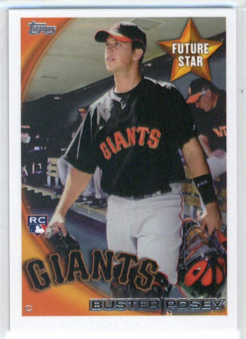 2014 Topps Future Stars The Never Were #FS-7 Buster Posey