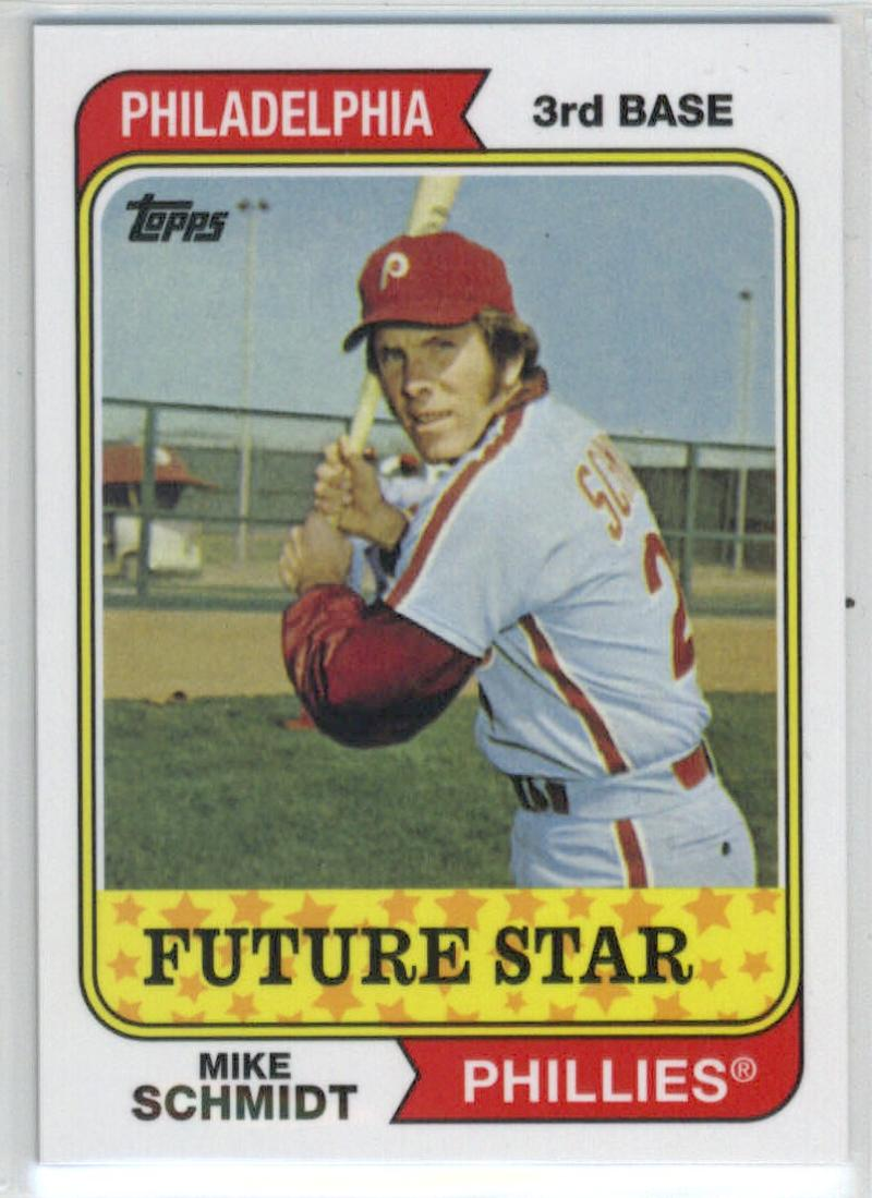 2014 Topps Future Stars The Never Were #FS-1 Mike Schmidt