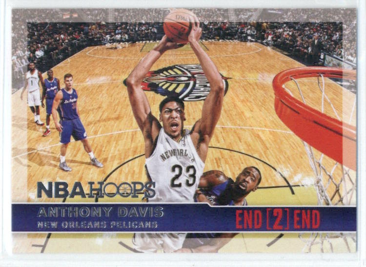 2014-15 Panini Hoops End 2 End #8 Anthony Davis