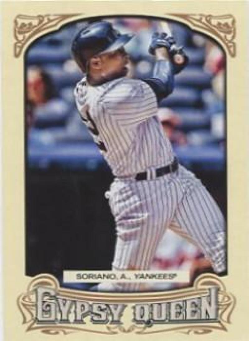 2014 Gypsy Queen #338 Alfonso Soriano  SP Yankees