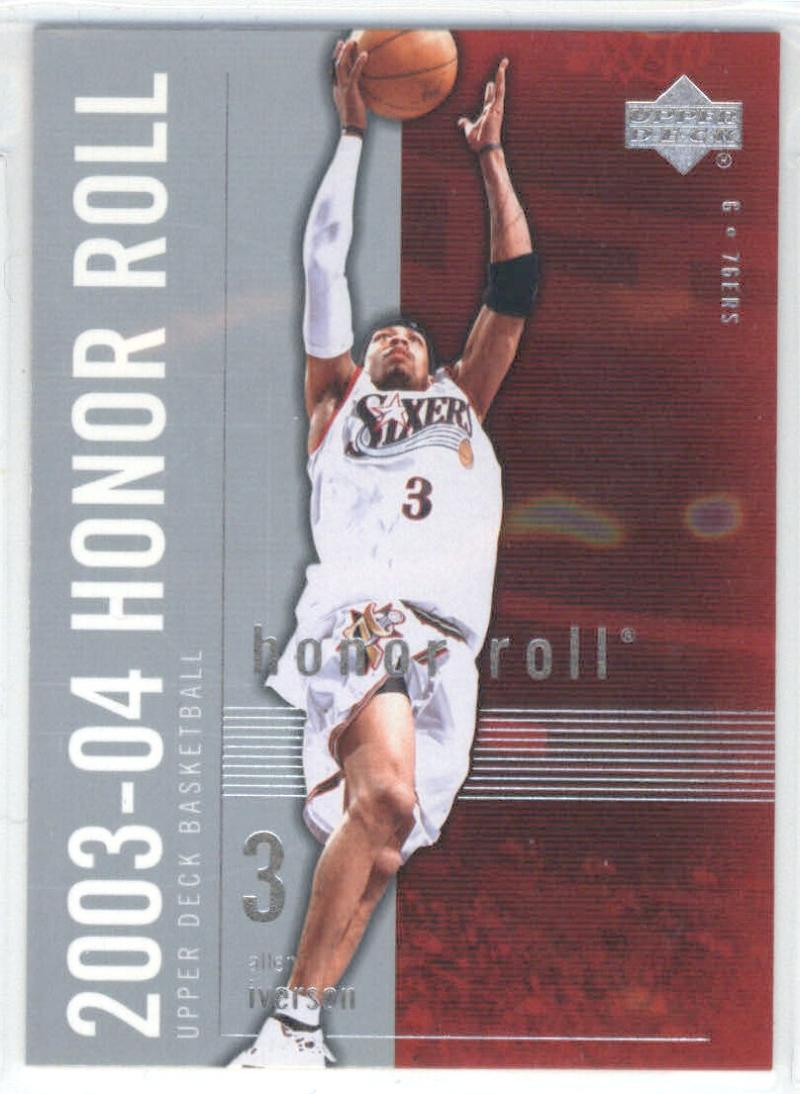 2003-04 Honor Roll #64 Allen Iverson