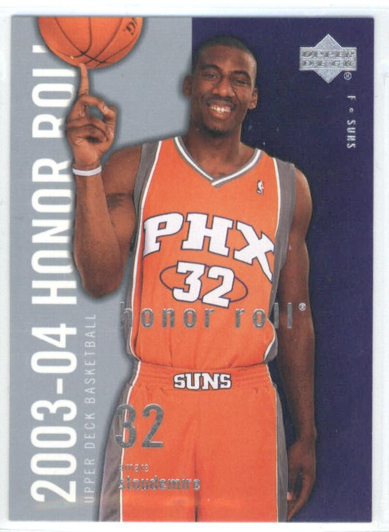 2003-04 Honor Roll #66 Amare Stoudemire  Suns