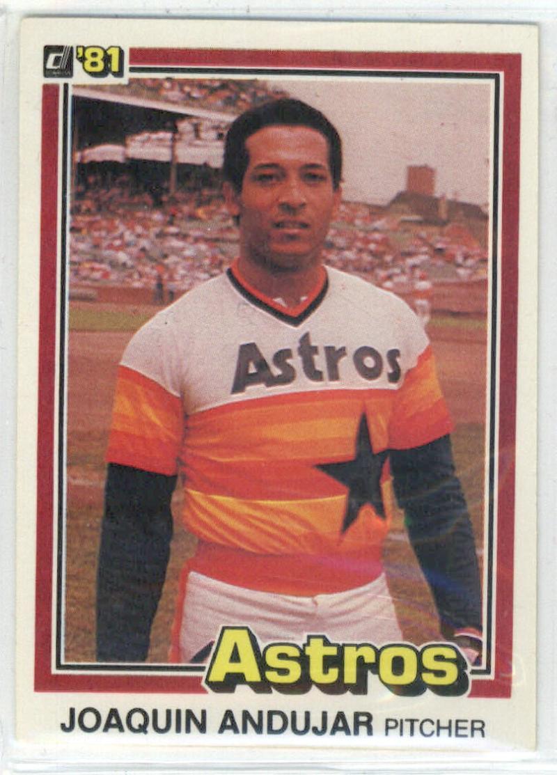 1981 Donruss #381 Joaquin Andujar  Astros