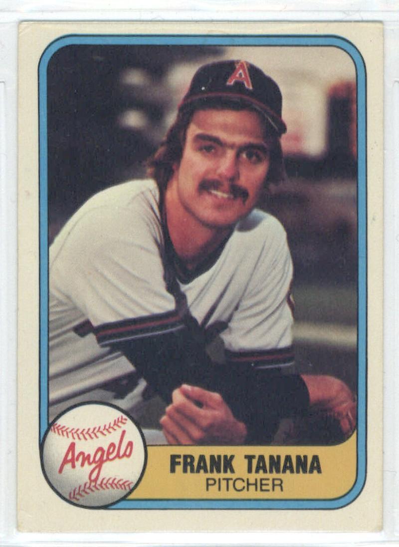 1981 Fleer #276 Frank Tanana  Angels