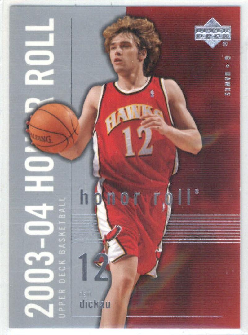 Basketball NBA 2003-04 Honor Roll #2 Dan Dickau