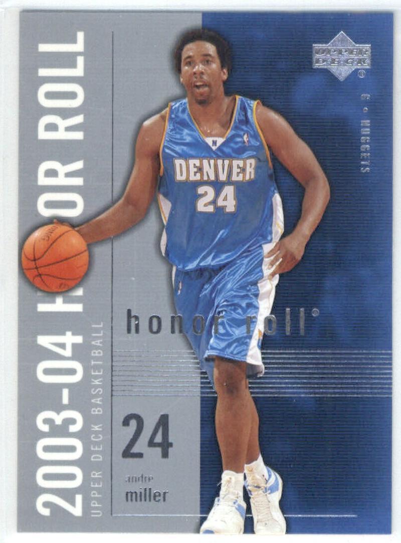 Basketball NBA 2003-04 Honor Roll #18 Andre Miller