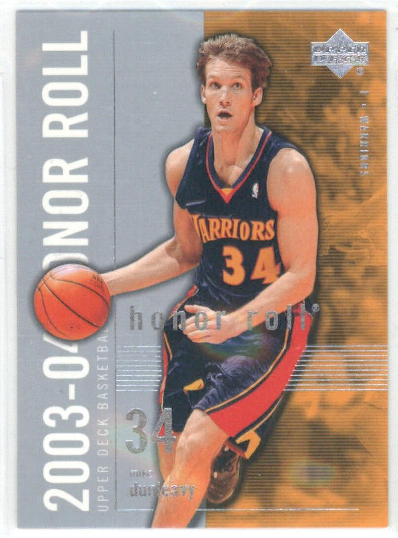 Basketball NBA 2003-04 Honor Roll #25 Mike Dunleavy  Warriors