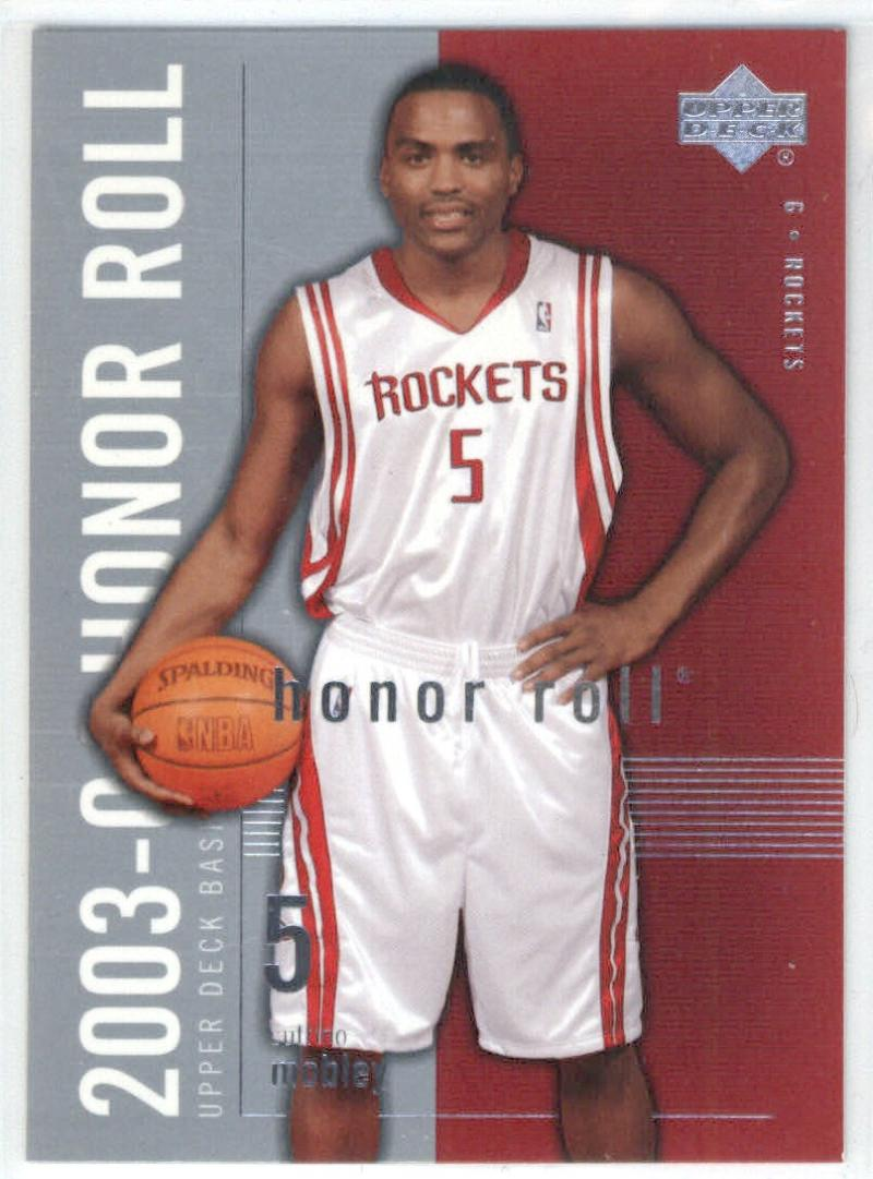 Basketball NBA 2003-04 Honor Roll #27 Cuttino Mobley