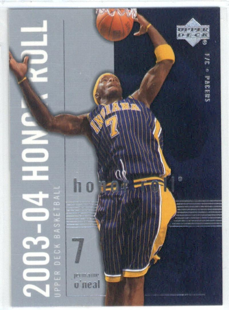 Basketball NBA 2003-04 Honor Roll #29 Jermaine O'Neal