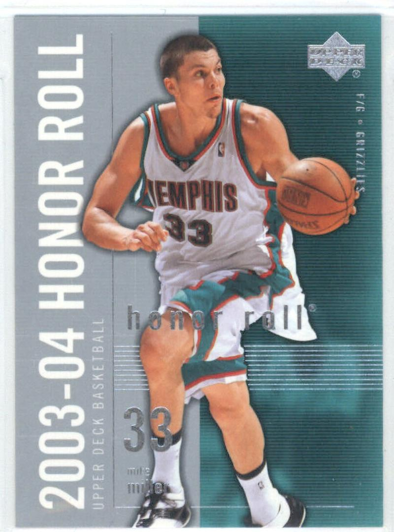 Basketball NBA 2003-04 Honor Roll #41 Mike Miller