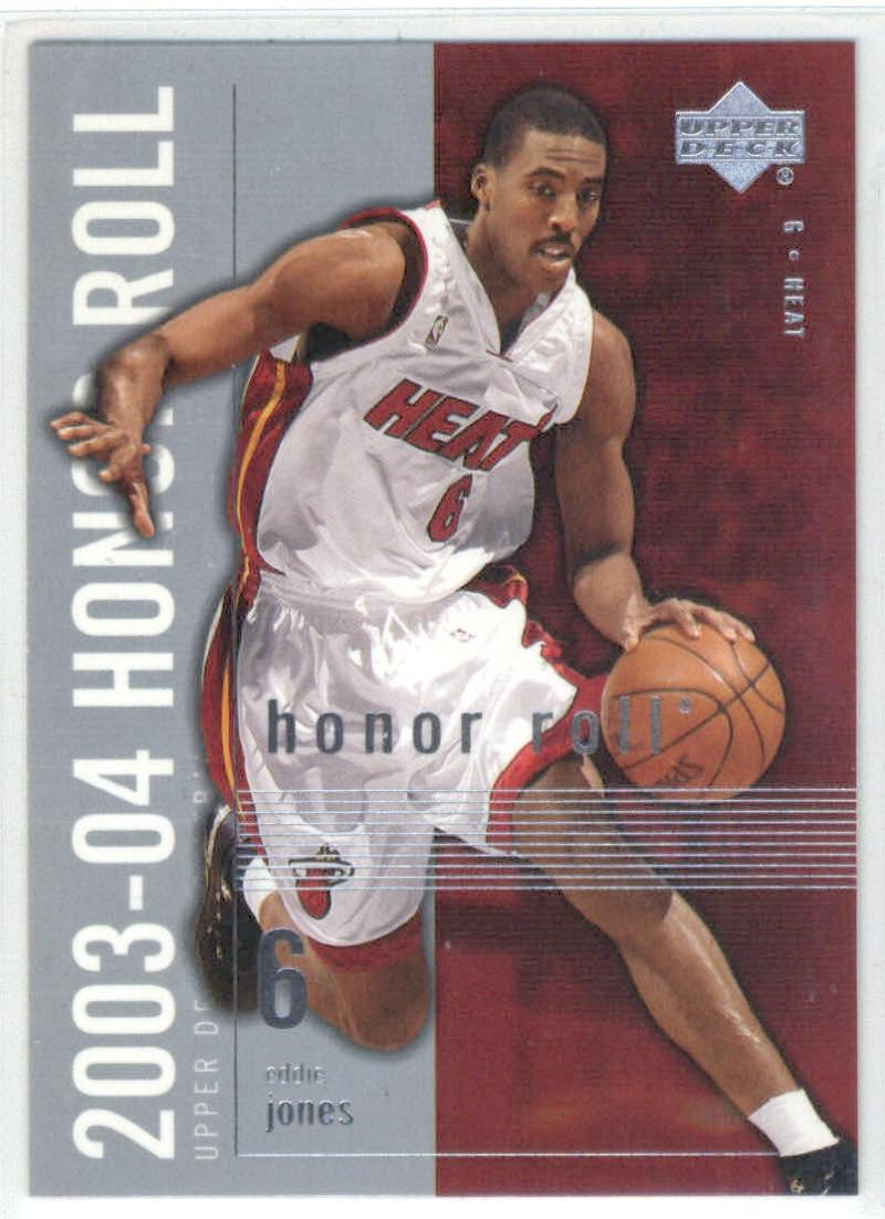 Basketball NBA 2003-04 Honor Roll #43 Eddie Jones