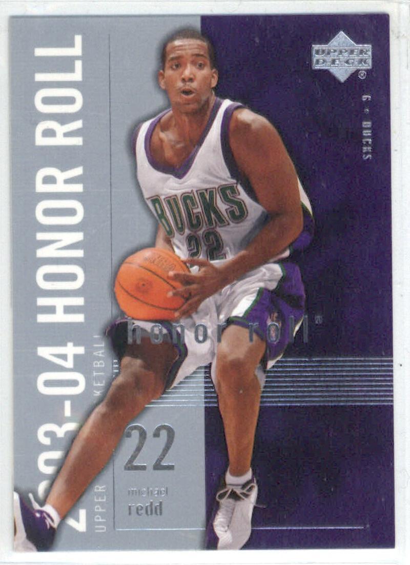 Basketball NBA 2003-04 Honor Roll #45 Michael Redd  Bucks