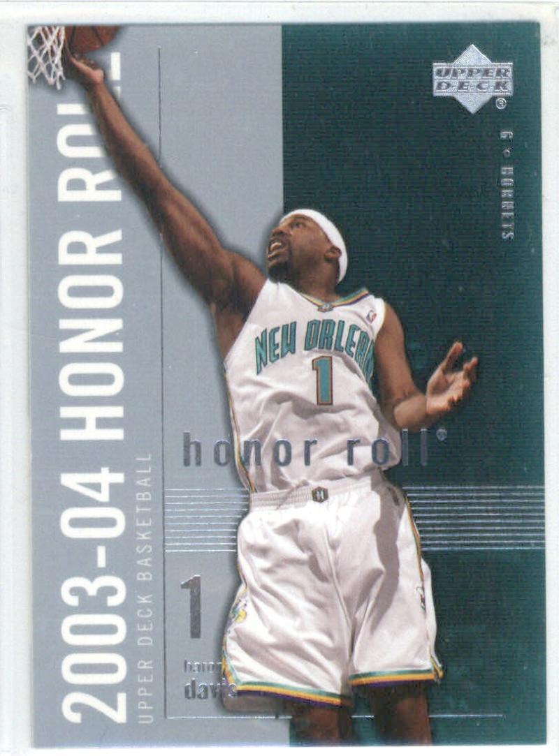 Basketball NBA 2003-04 Honor Roll #55 Baron Davis