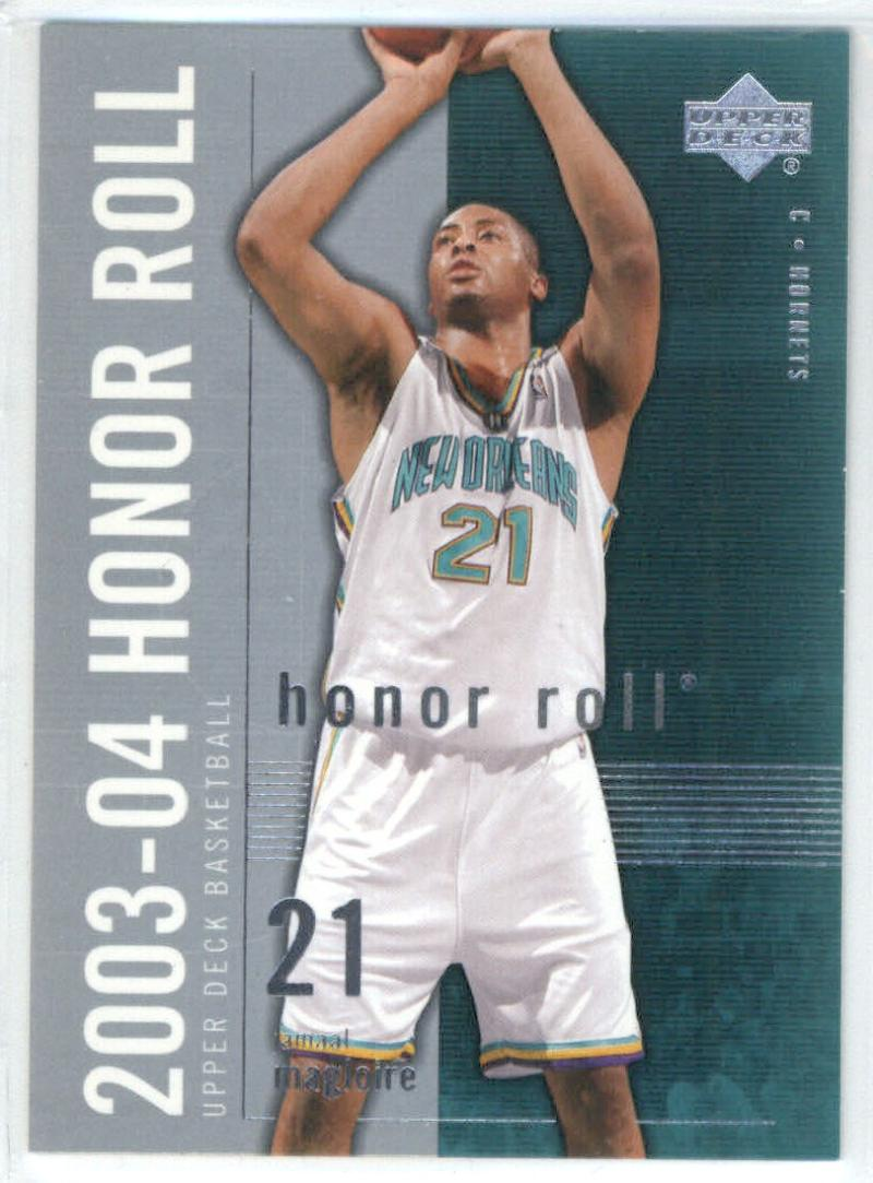 Basketball NBA 2003-04 Honor Roll #56 Jamaal Magloire