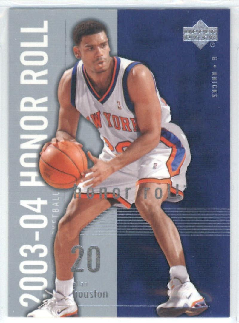 Basketball NBA 2003-04 Honor Roll #57 Allan Houston