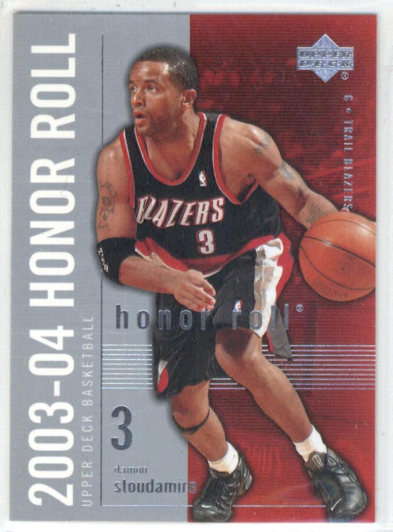 Basketball NBA 2003-04 Honor Roll #70 Damon Stoudamire