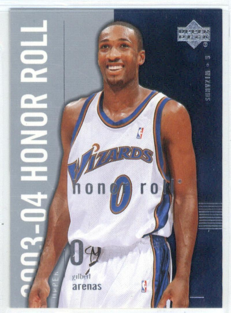 Basketball NBA 2003-04 Honor Roll #88 Gilbert Arenas