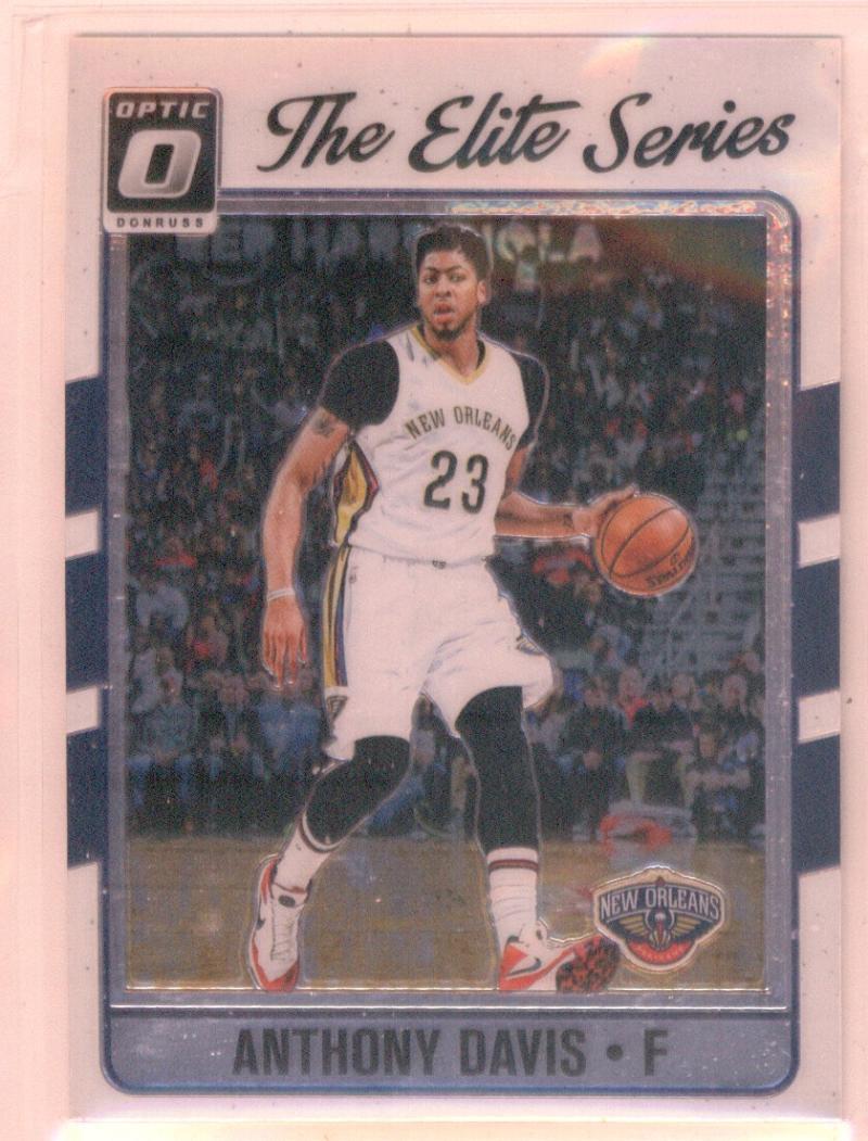 Basketball NBA 2016-17 Optic Elite Series #10 Anthony Davis