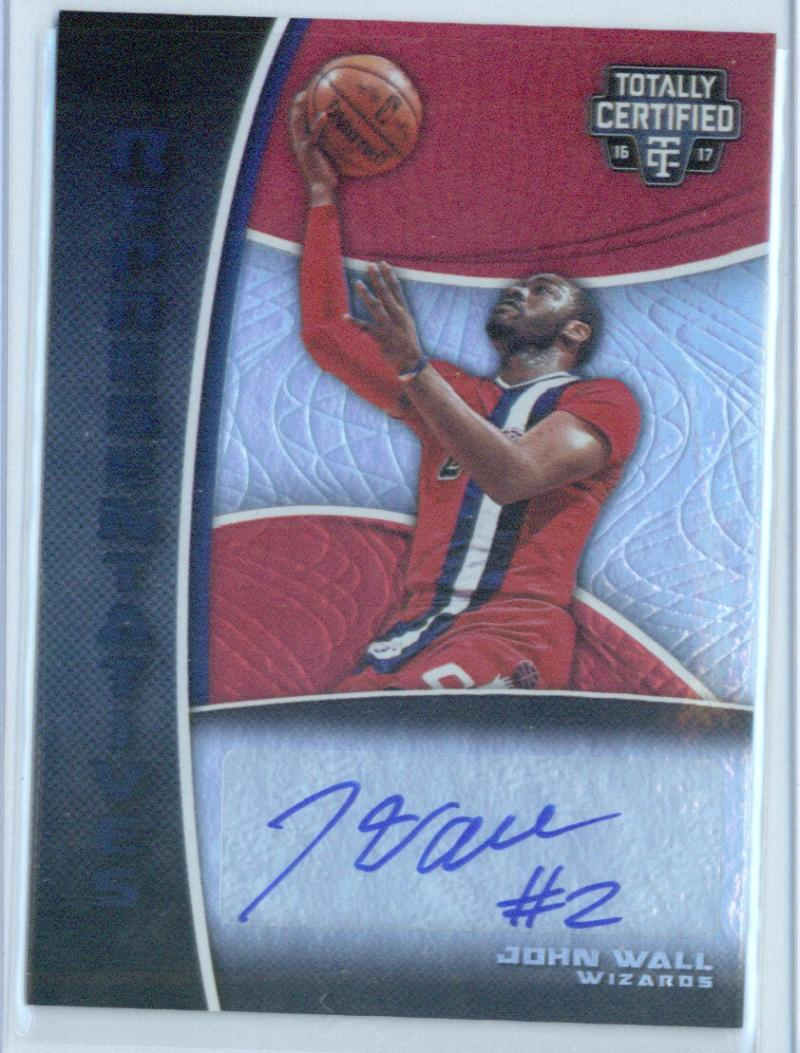 2016-17 Totally Certified Representatives Mirror #30 John Wall 25/25 ONLY 25!