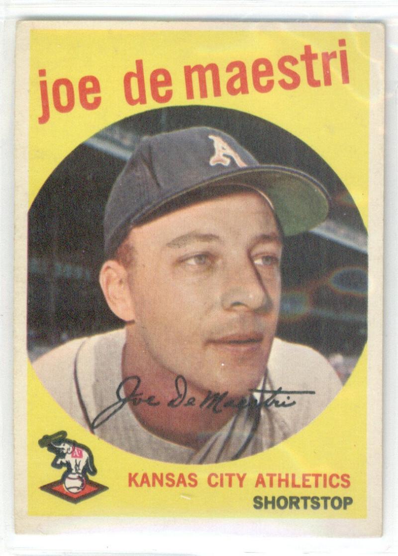 Baseball MLB 1959 Topps #64 Joe DeMaestri  Athletics