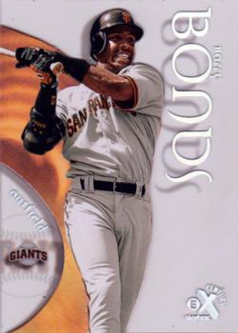 Baseball MLB 1999 E-X Century #24 Barry Bonds  Giants