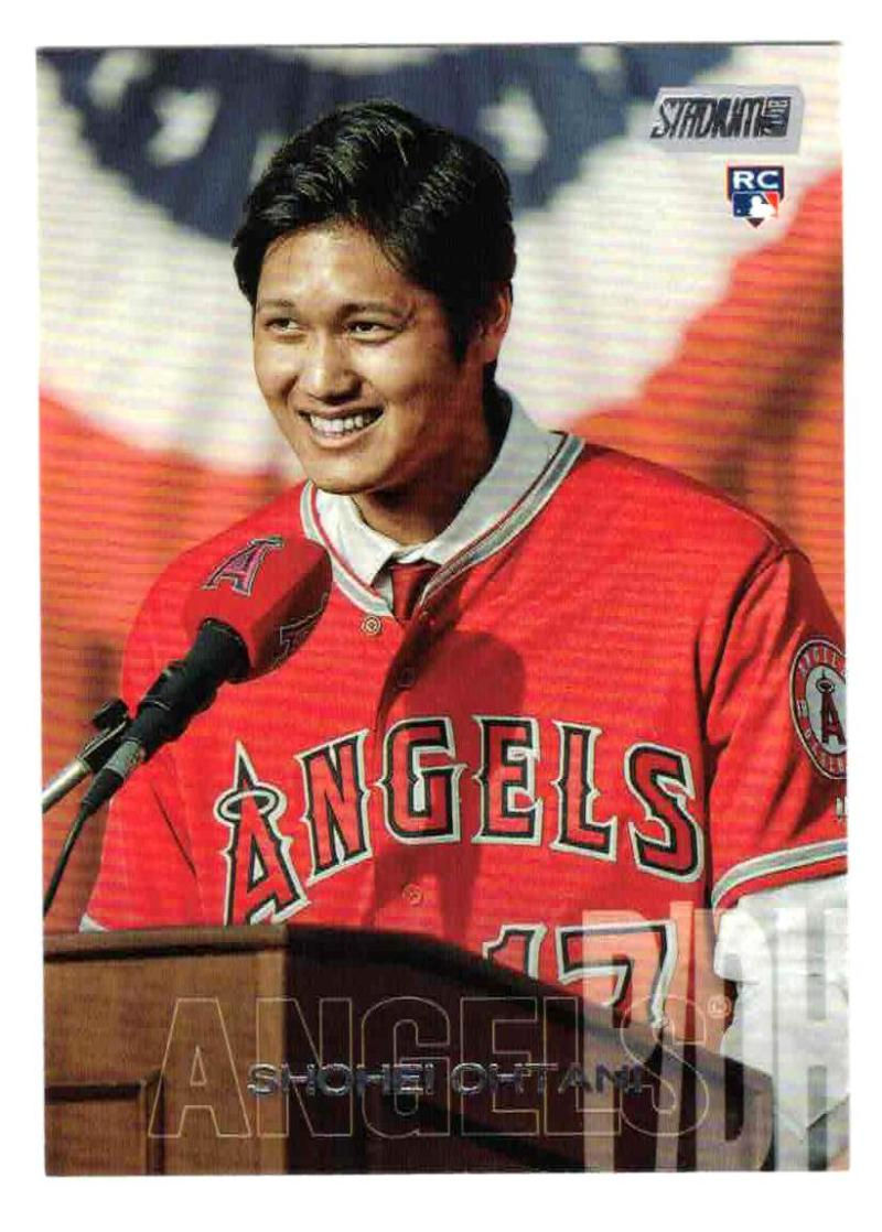 2018 Topps Stadium Club #138 Shohei Ohtani  RC