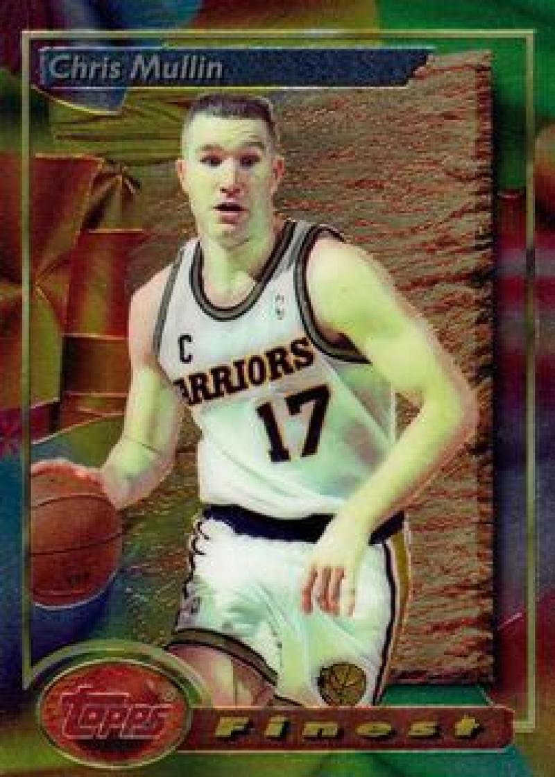 1993-94 Topps Finest #176 Chris Mullin