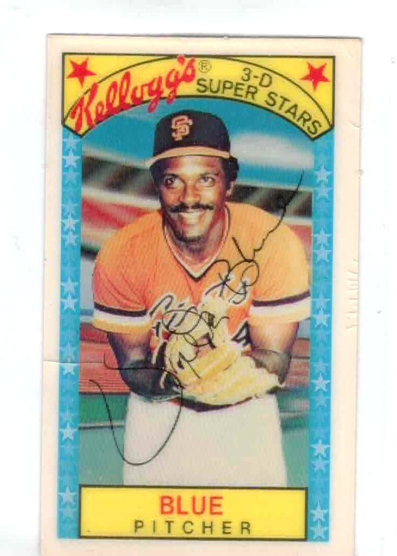 1979 Kellogg's #23B Vida Blue W/ Runs 819