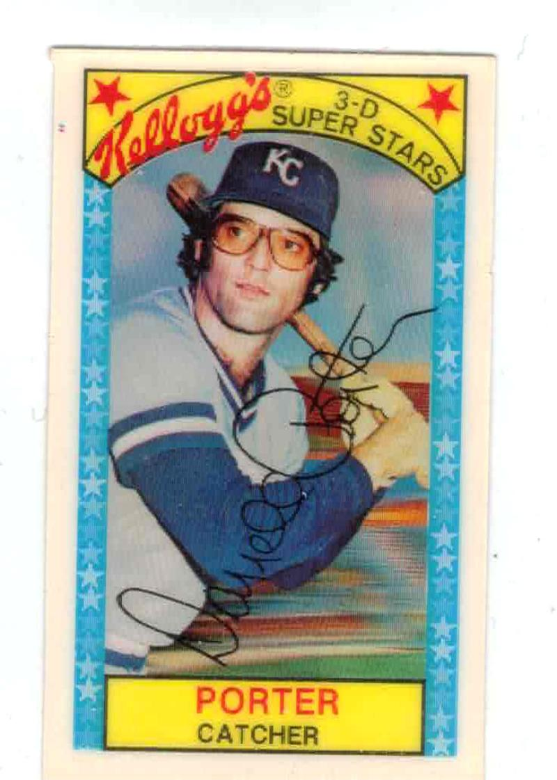 1979 Kellogg's #25B Darrell Porter w/ Doubles 111