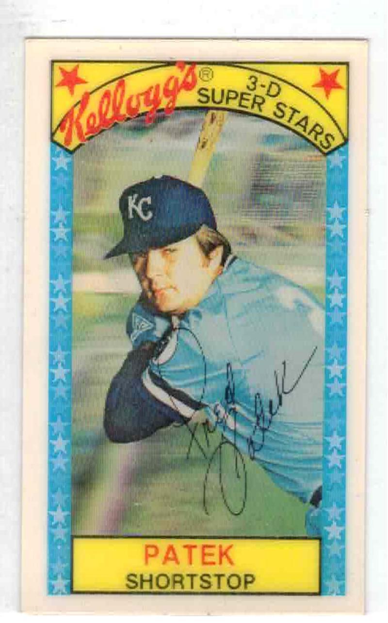 1979 Kellogg's #36 Fred Patek