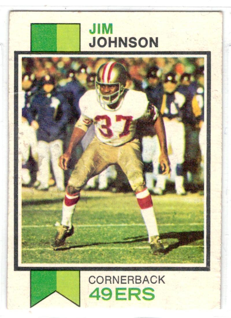 1973 Topps #20 Jim Johnson NM Near Mint