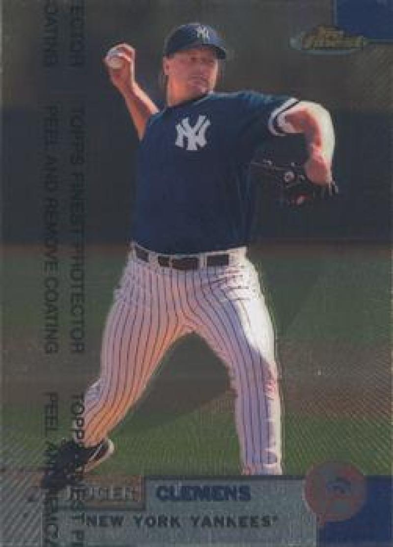 1999 Finest #151 Roger Clemens NM Near Mint