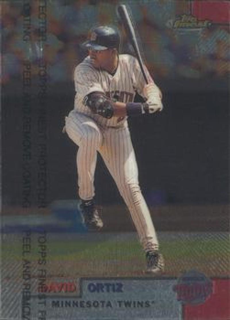 1999 Finest #166 David Ortiz NM Near Mint