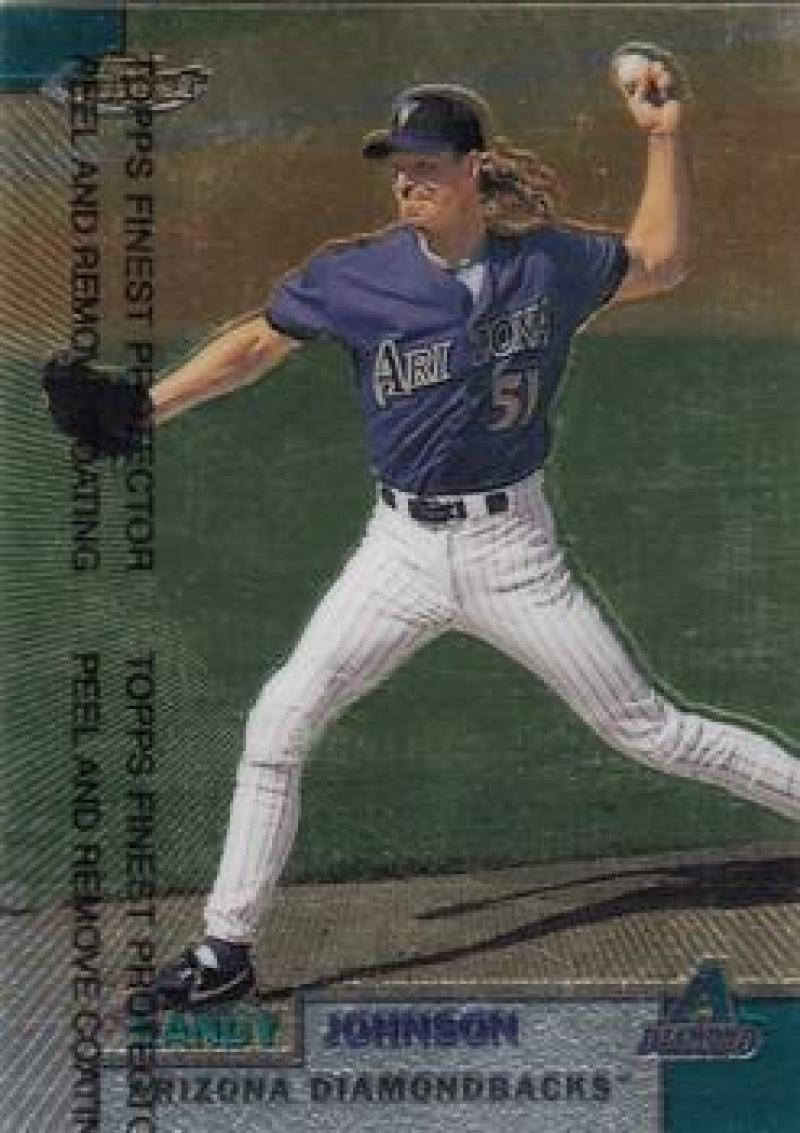 1999 Finest #185 Randy Johnson NM Near Mint