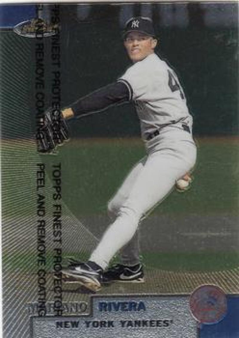 1999 Finest #239 Mariano Rivera NM Near Mint