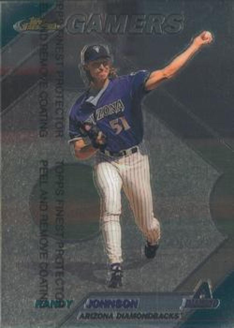 1999 Finest #274 Randy Johnson NM Near Mint