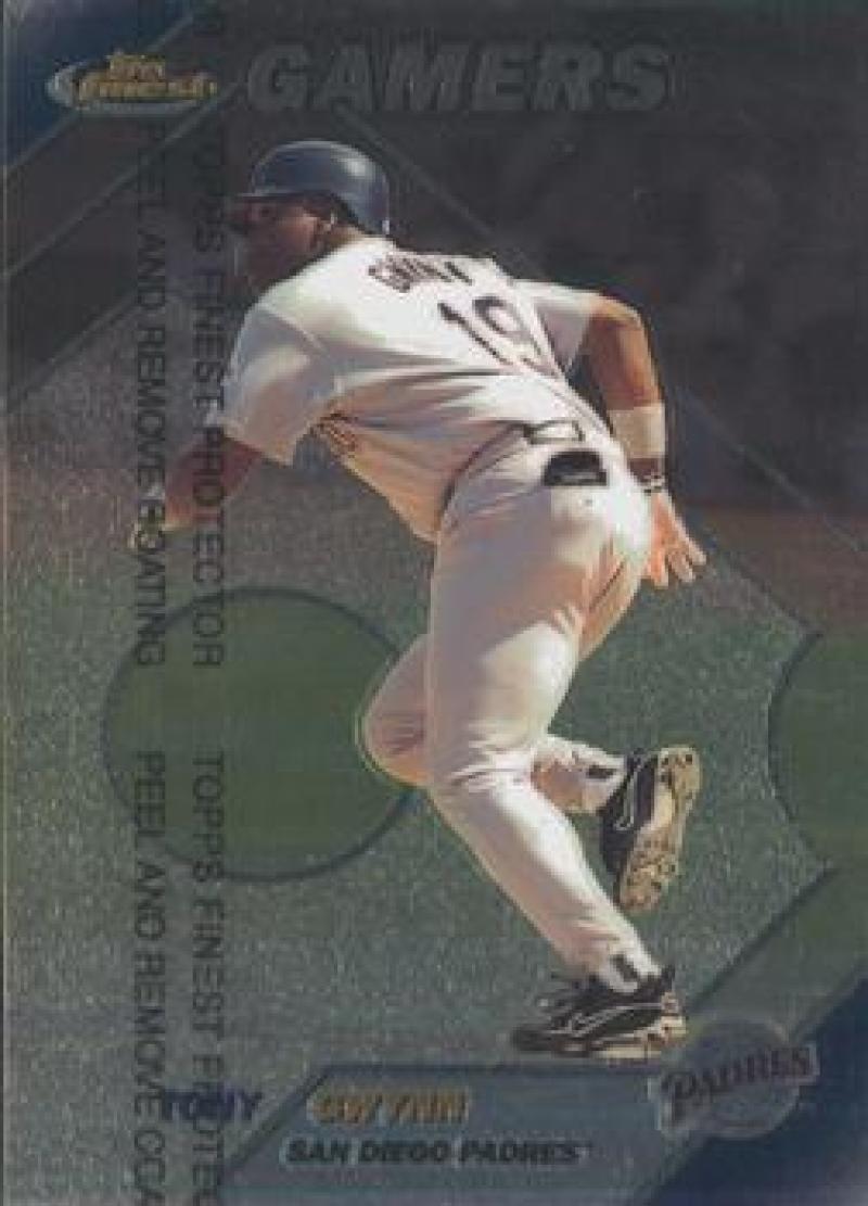 1999 Finest #275 Tony Gwynn NM Near Mint