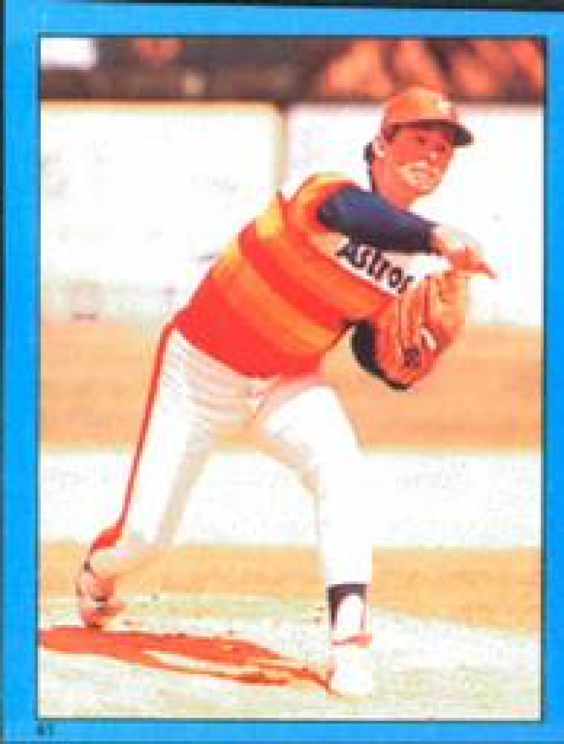 1982 Topps Stickers #41 Nolan Ryan NM Near Mint