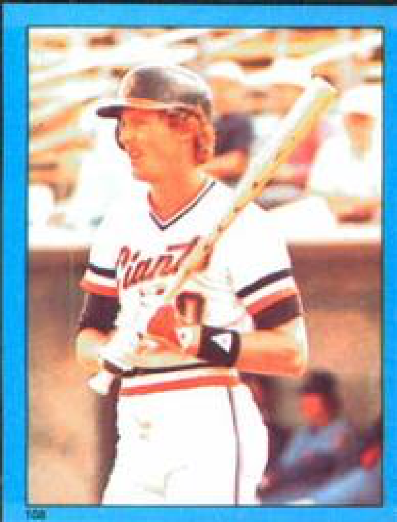 1982 Topps Stickers #108 Johnnie LeMaster NM Near Mint