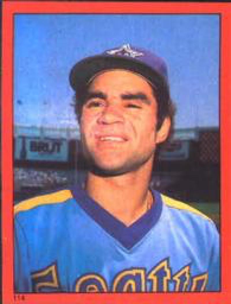 1982 Topps Stickers #114 Julio Cruz NM Near Mint