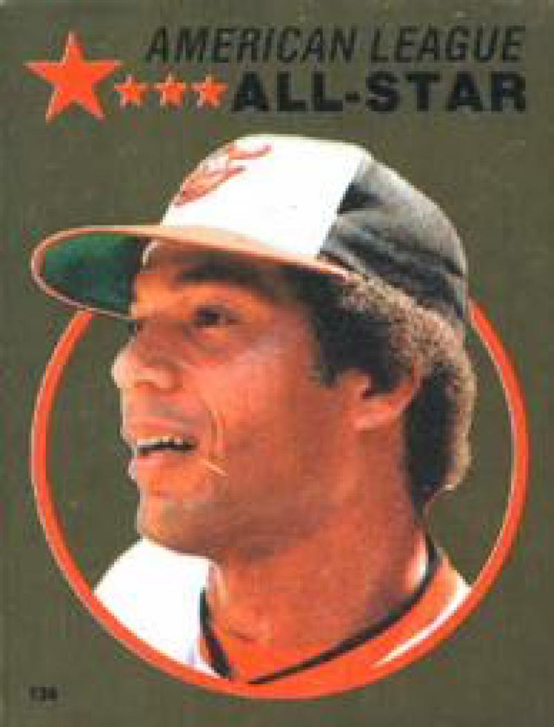 1982 Topps Stickers #136 Ken Singleton NM Near Mint