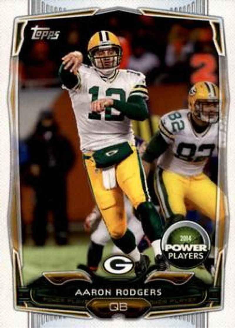 2014 Topps Power Players #PP-110 Aaron Rodgers NM Near Mint