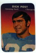 1970 Topps Glossy Inserts  #33 Dick Post NM