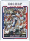 2014 Topps Future Stars The Never Were #FS-22 R.A. Dickey